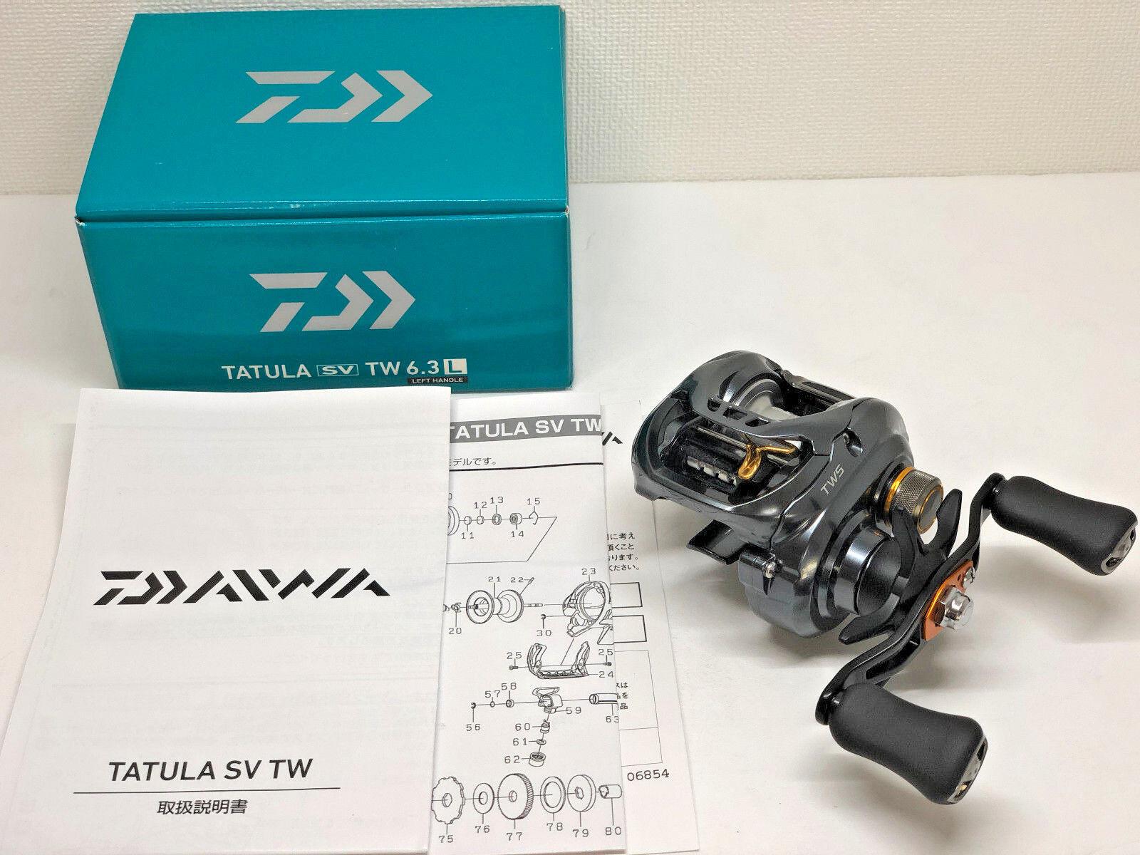 DAIWA 17 TATULA SV TW 6.3L   - Free Shipping from Japan