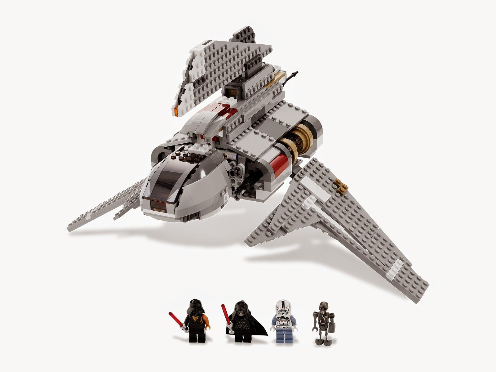 Lego 8096 Star Wars Emperor Palpatine Shuttle complet 100 % de 2010 CG7