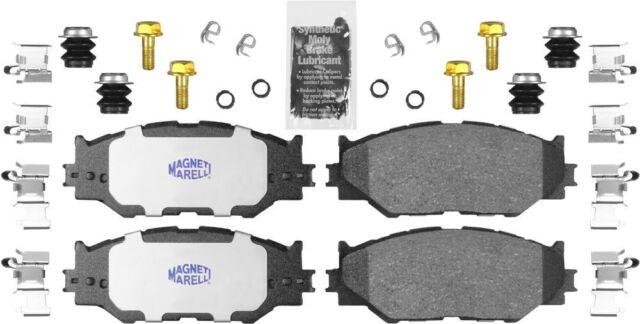 2 Pack Magneti Marelli by Mopar 2AMV3163AA Brake Pad Set