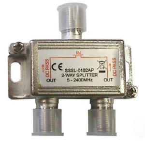 Repartiteur-TV-SAT-pour-Connecter-Jusqu-039-a-2-Decodeurs-Terrestres-ou-Satellites