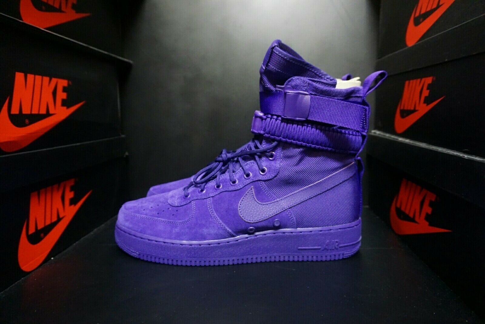 Nike SF AF 1 Air Force 1 Court Purple Suede  Size US 12 Men 864024 500 NO BOX