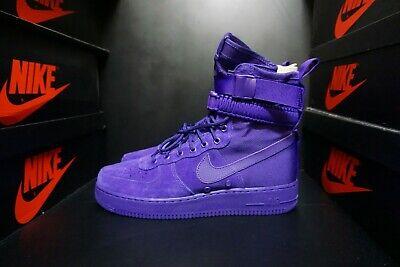 official photos a5c1e 21a38 Nike SF AF 1 Air Force 1 Court Purple Suede Size US 12 Men 864024 500