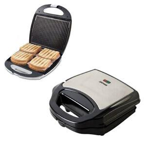 Zephir tostiera tostapane elettrico piastra toast 750W antiaderente bistecchiera