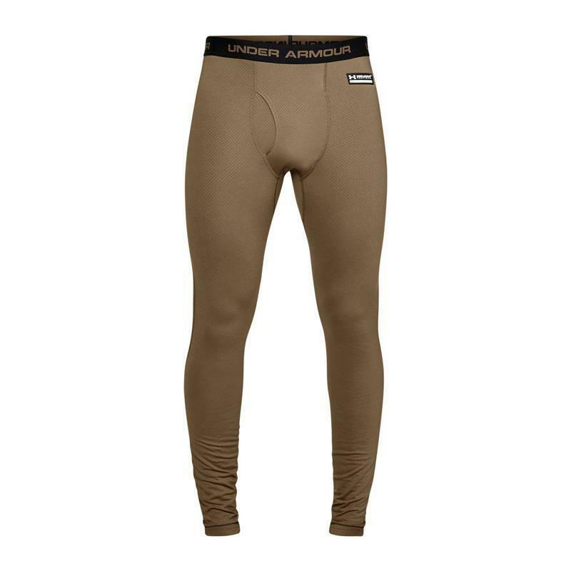 UA Coldgear Reactor Tactical Fitted Leggings Coyote Braun
