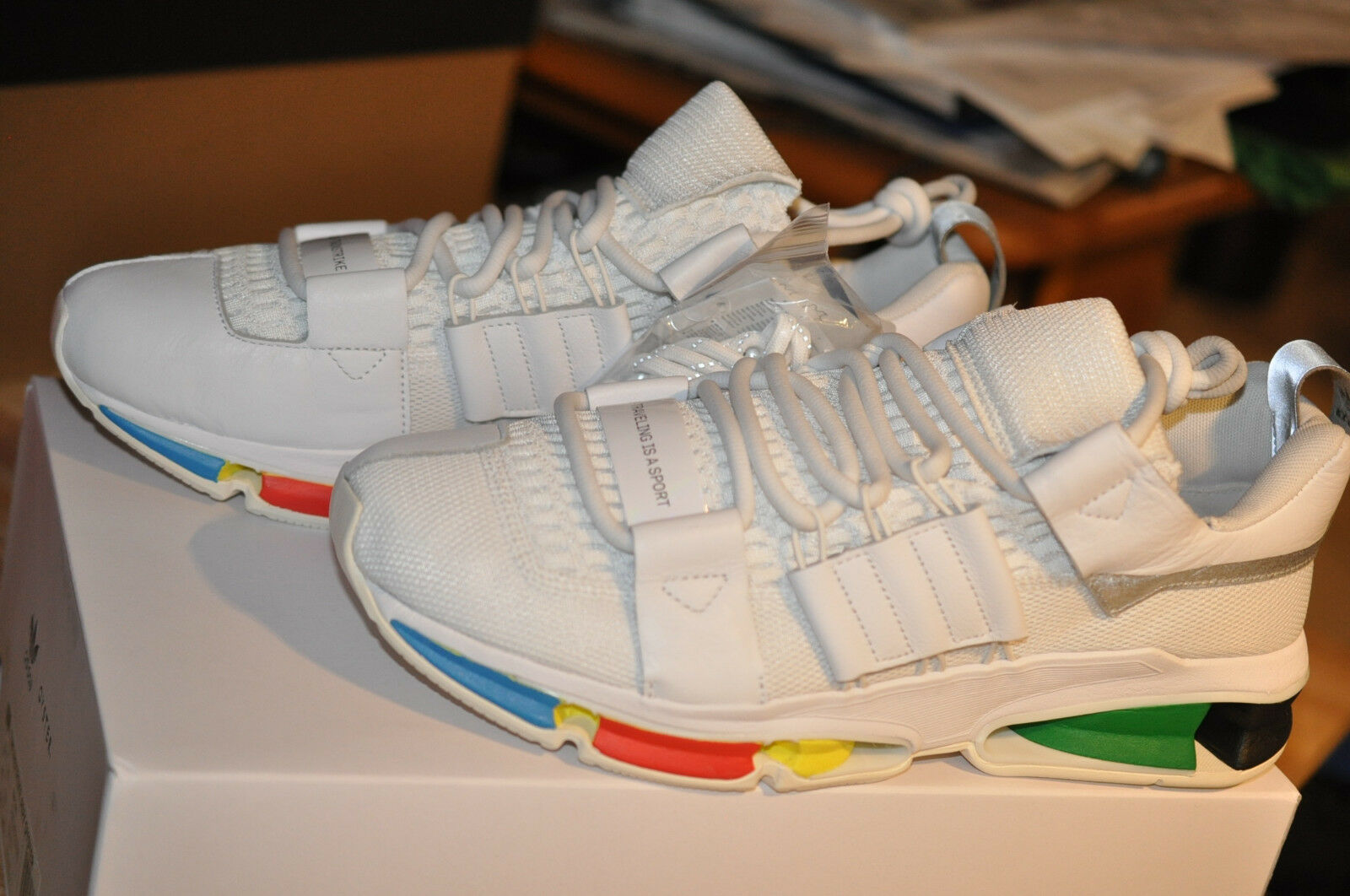Adidas originals TWINSTRIKE ADV OYSTER Weiß US11.5 UK11 EUR11 Softbag Deadstock