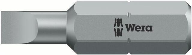 Wera 800/1 Z Bits, 1.2 x 6.5 x 25 mm