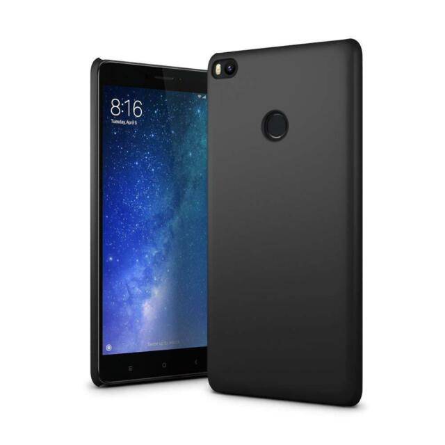 new concept 25947 5b7c5 for XIAOMI Mi Max 2 Case Ultra Slim Hard Back Phone Cover - Matte Black