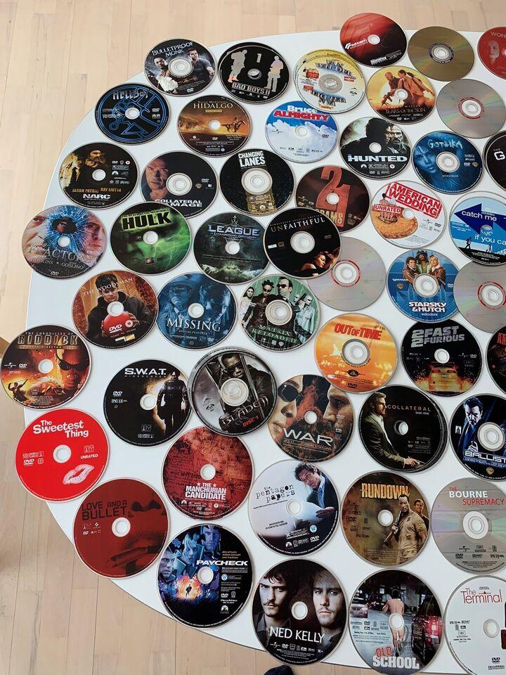 100+ Region 1 DVD film, DVD, andet