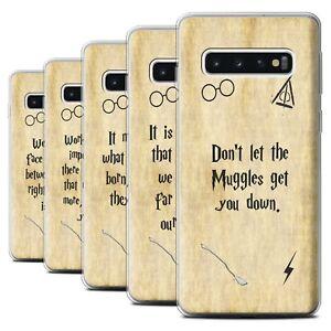 Gel-TPU-Case-for-Samsung-Galaxy-S10-School-Of-Magic-Film-Quotes