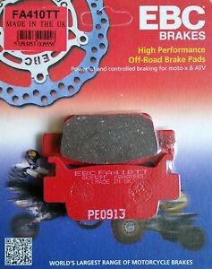EBC/FA410TT Brake Pads (Front) for Honda TRX500/TRX680/TRX700 Fourtrax Foreman