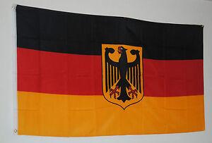 fahne flagge 1782 deutschland bundesadler 90cm x 150cm adler schwarz rot gold ebay. Black Bedroom Furniture Sets. Home Design Ideas