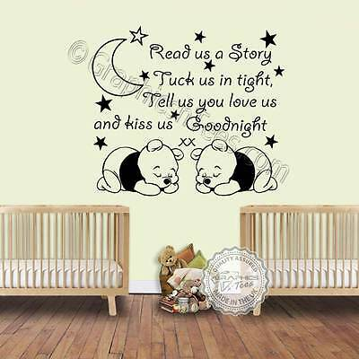 Baby Bedroom Wall Quote Decal