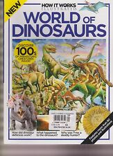 HOW IT WORKS MAGAZINE ILLUSTRATED WORLD OF DINOSAURS 2015.
