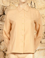 VINTAGE 70s 'PIER BE' SHIRT - UK 12 - (Q)