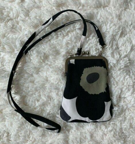 Marimekko Roosa Mini Unikko purse