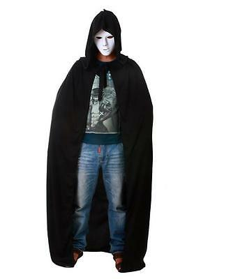 New Popular Adult Hooded Long Cape Cloak Tippet Prop Coat Halloween Cosplay - DD
