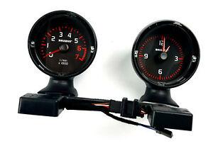 Smart-Brabus-W451-ForTwo-Zusatzinstrumente-Uhr-Drehzahlmesser-DZM-Benziner