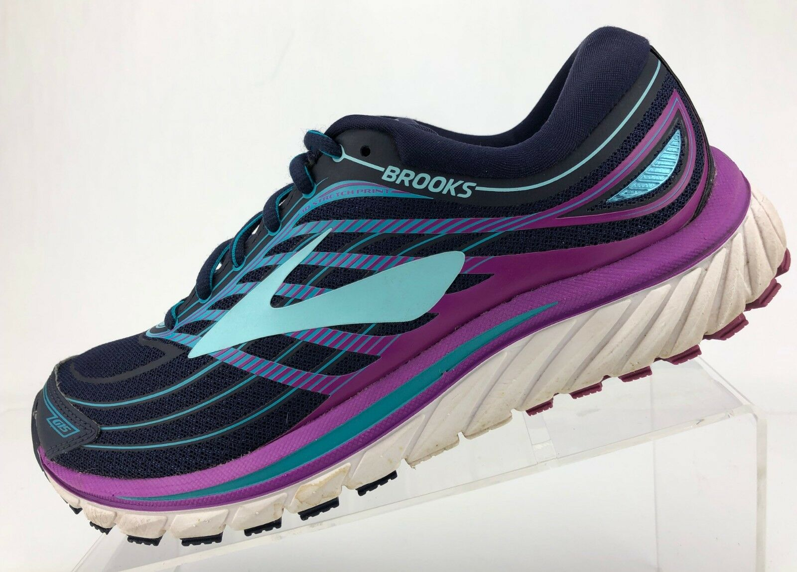 Brooks Glycerin 15 Road Running schuhe Blau Cross Training Athletic damen Sz 9.5B