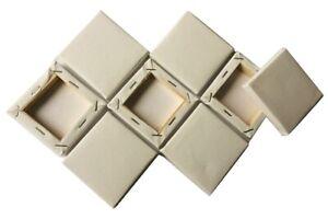 8-WHITE-MINI-BLANK-CANVAS-ACRYLIC-OIL-PAINT-PLAIN-SMALL-SQUARE-ART-SKETCH-BOARD