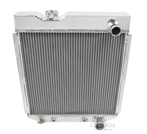 1965 Ford Falcon All Aluminum 3 Row Core KR Champion Radiator