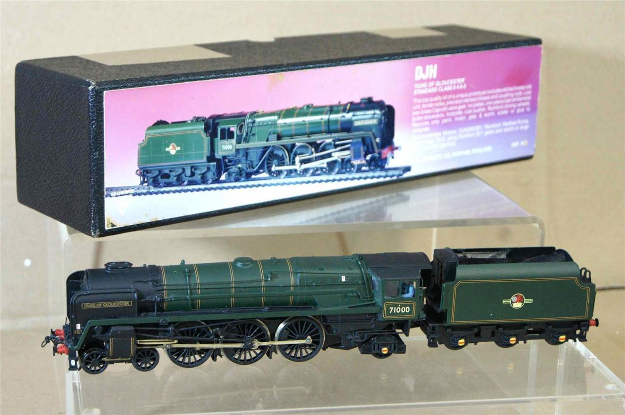 Fabricación de paquetes DJH BR 4 - 6 - 2 clase 8, loco 71000, Duque de Gloucester