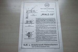 Hell In Farbe 197076 Pfalz Rotor 55 Zentrifugalpumpe Anleitung Prospekt 195