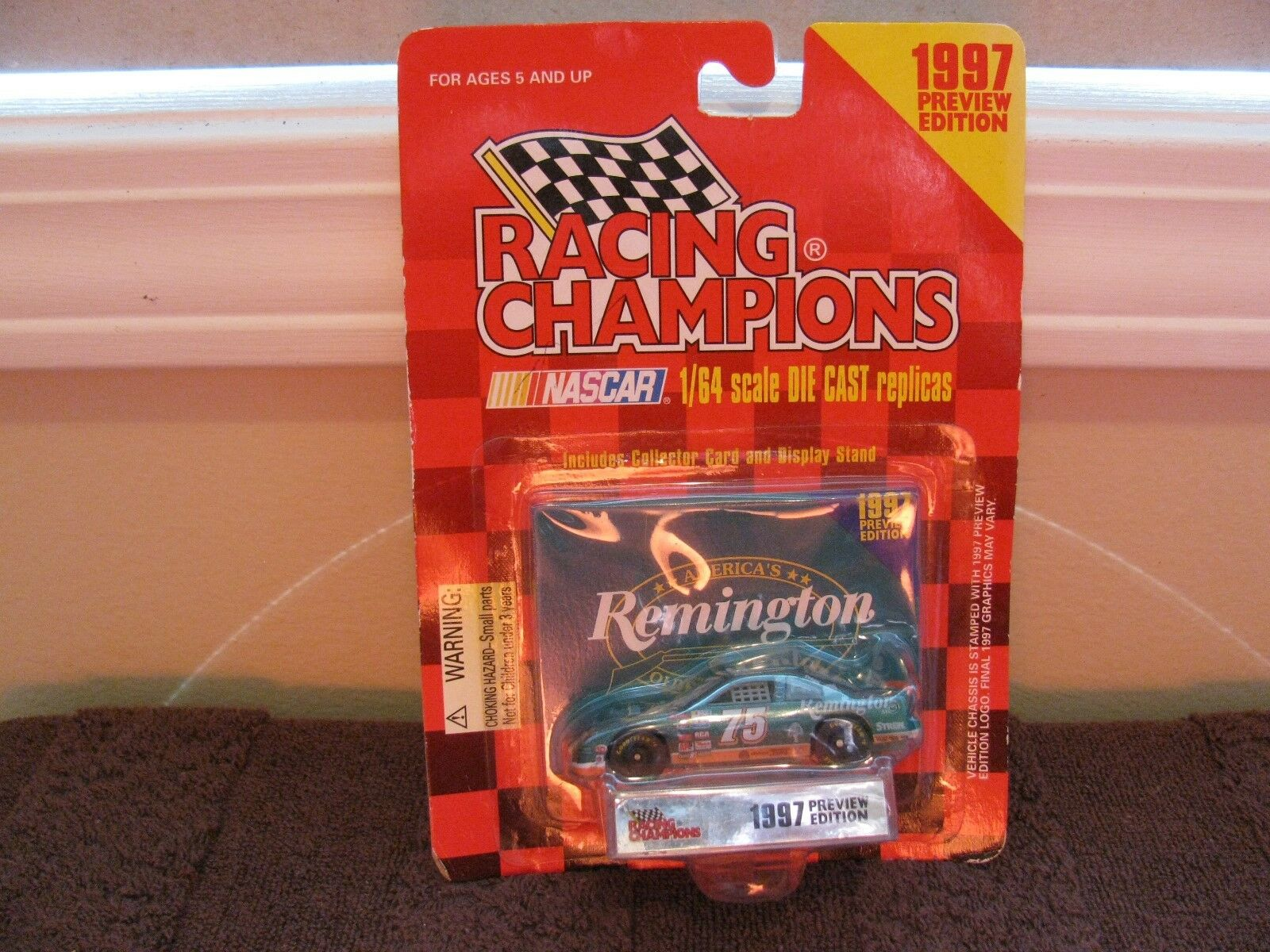 Racing Champions Remington Adgreenisement 1997 Preview Ed.1 64 Diecast Car