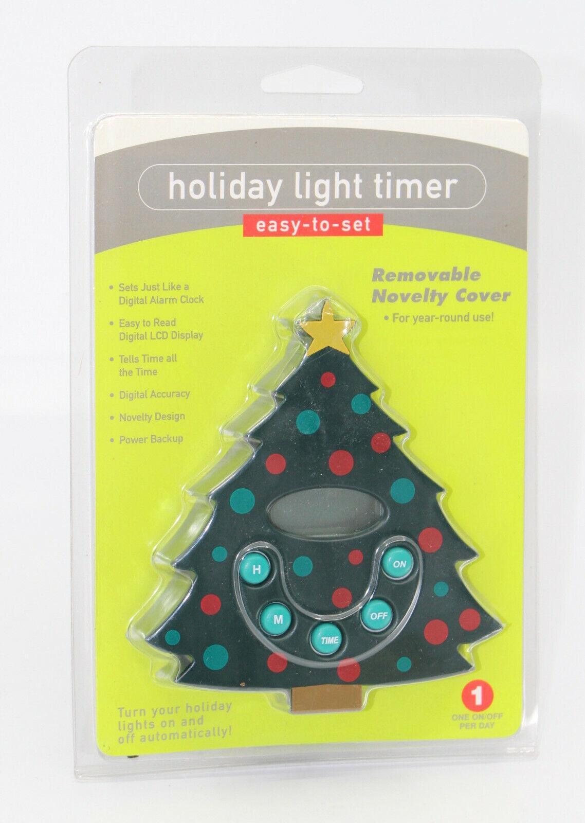 Ingraham Holiday Light Timer Christmas Tree Alarm timer RARE