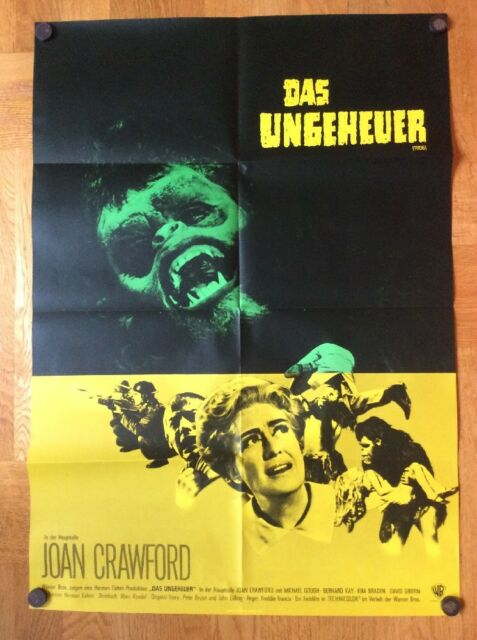 Ungeheuer (Kinoplakat '70) - Joan Crawford / Michael Gough / Horror