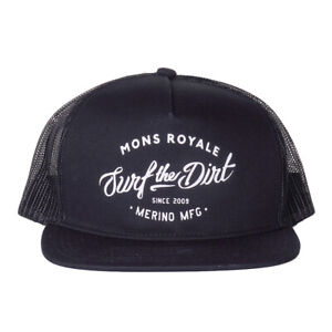 Mons Royale The Acl Trucker Cap Dirt Black OS 2017