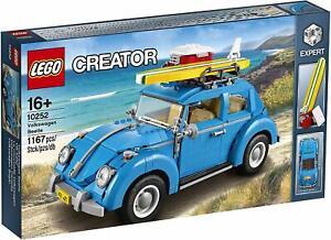 LEGO-10252-Creator-Expert-Maggiolino-Volkswagen-NEW-MISB-DA-COLLEZIONE-PERFECT