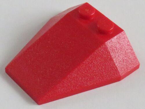 rot # 6069 LEGO Ecke / Wedge 4 x 4 schräg 2 Stück