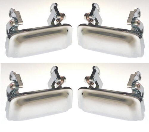 98-05  4 pcs Outside Left /& Right  CHROME  Door Handles    Fits Ford Explorer