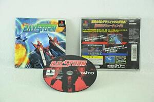 USED-PS1-PS-PlayStation-1-RayStorm-60134-JAPAN-IMPORT