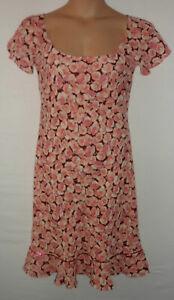JAUNTY by Ronit Zilkha floral dress UK 16 US 14 EU 44