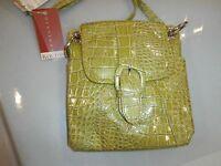 Koltov Mini Bag Purse Lime Green Acossbody Organizer