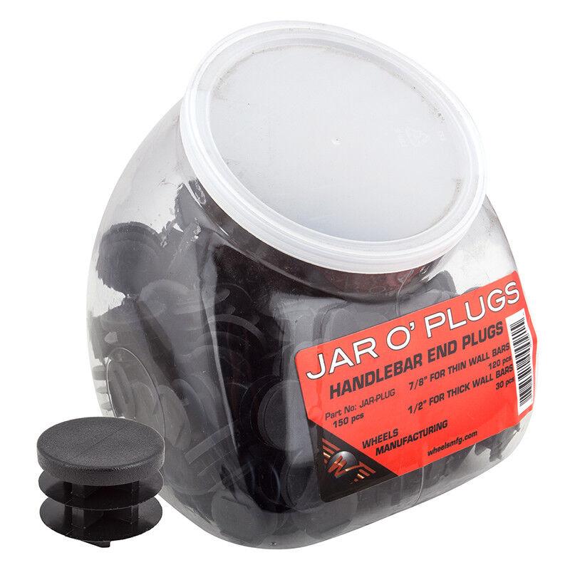 Wheels Manufacturing JAR O Handle Bar Plugs Hbar Plug Wob Asst Größes Jrof150