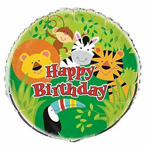"18/"" Animal Jungle Foil Balloon"