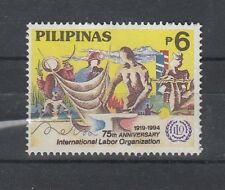 Philippines 1994 75th Anniversary of ILO. 1 Val. MNH. VF.