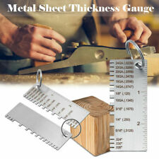Sheet Metal Gauge Thickness Gage Measuring Tool Wire Gauge Stainless Steel
