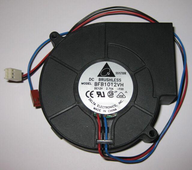 97 x 94 mm 2 Plug 4500 RPM Powerful Delta Blower Fan BFB1012VH 12 V DC