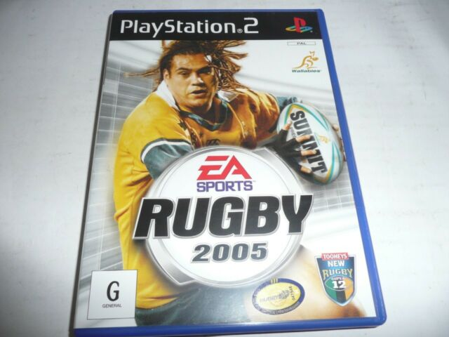 EA SPORTS RUGBY 2005 PS2 GAME NEW