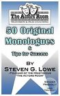 The Actors Room 50 Original Monologues and Tips for Success by Steven G Lowe (Paperback / softback, 2011)