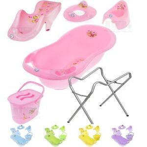 Baby-Badewanne-Badesitz-Staender-Babywanne-Babybadewanne-verschiedene-Varianten