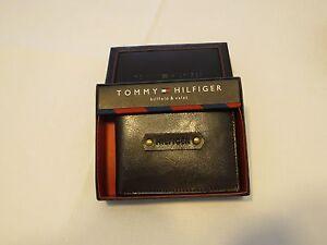 Tommy-Hilfiger-Men-039-s-billfold-wallet-Valet-brown-31HP130007-leather-TH-NEW-case
