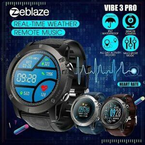 Bluetooth Smartwatch Herren Sport Armbanduhr Pulsmeser..
