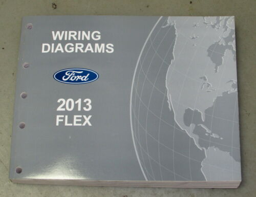 Other Car Manuals Vehicle Parts  U0026 Accessories 2013 Ford Flex Service Wiring Diagram Manual