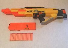Nerf Stampede ECS N-Strike Gun With Extra Capacity Clip And 18 Darts.