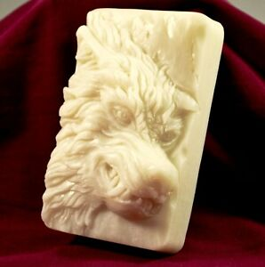Details about WOLF SILICONE SOAP MOLD BAR MOULD clay wax resin plaster  WILKOR WEREWOLF
