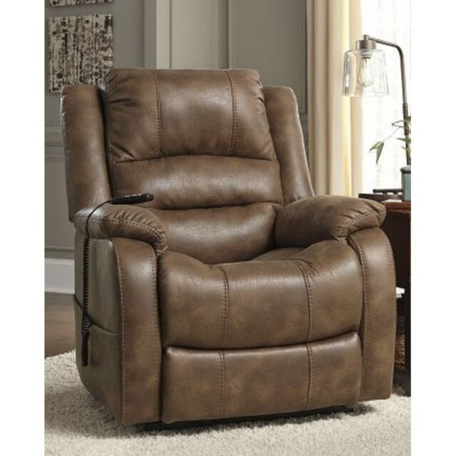 Phenomenal Signature Design By Ashley 1090012 Yandel Power Lift Recliner Insaddle New Andrewgaddart Wooden Chair Designs For Living Room Andrewgaddartcom